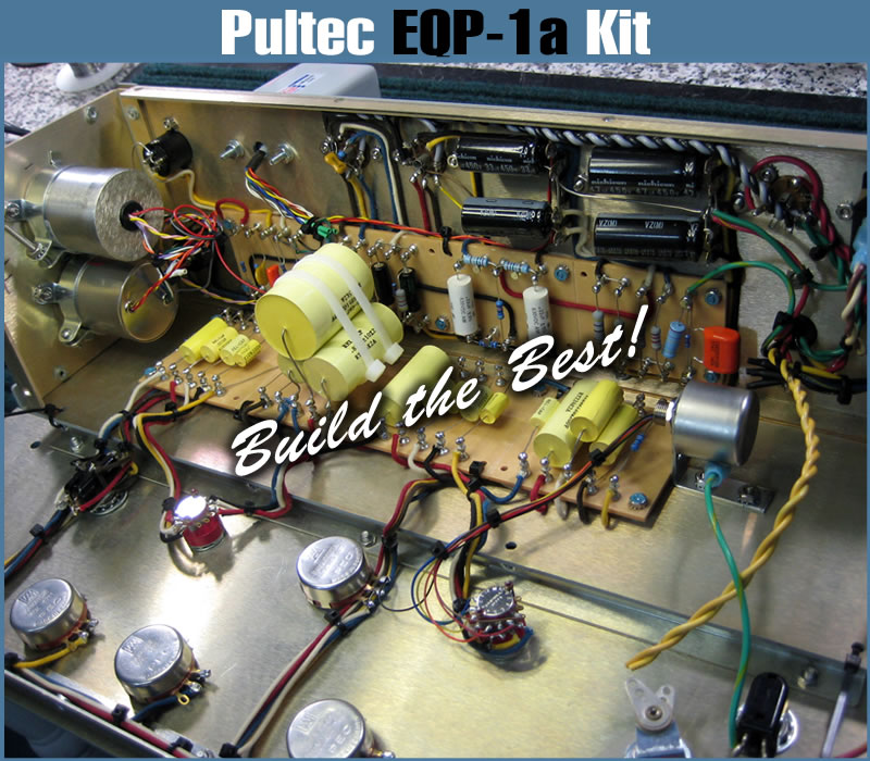 Pultec EQP-1a Equalizer Reproductions and Kits